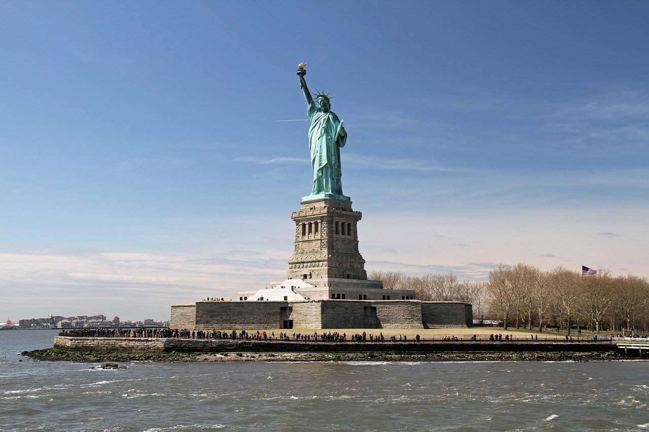 statue of liberty facts, landmarks facts