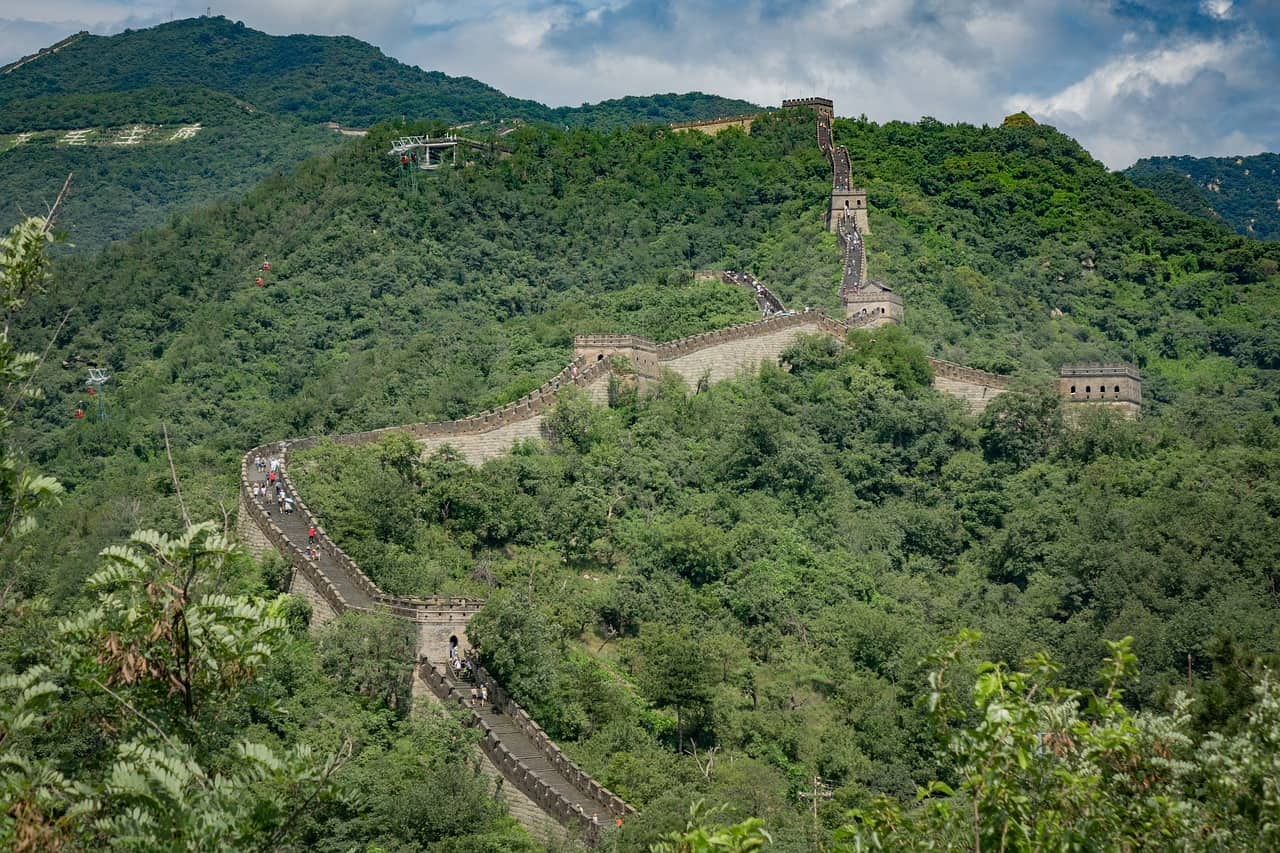the great wall of china facts, landmarks facts