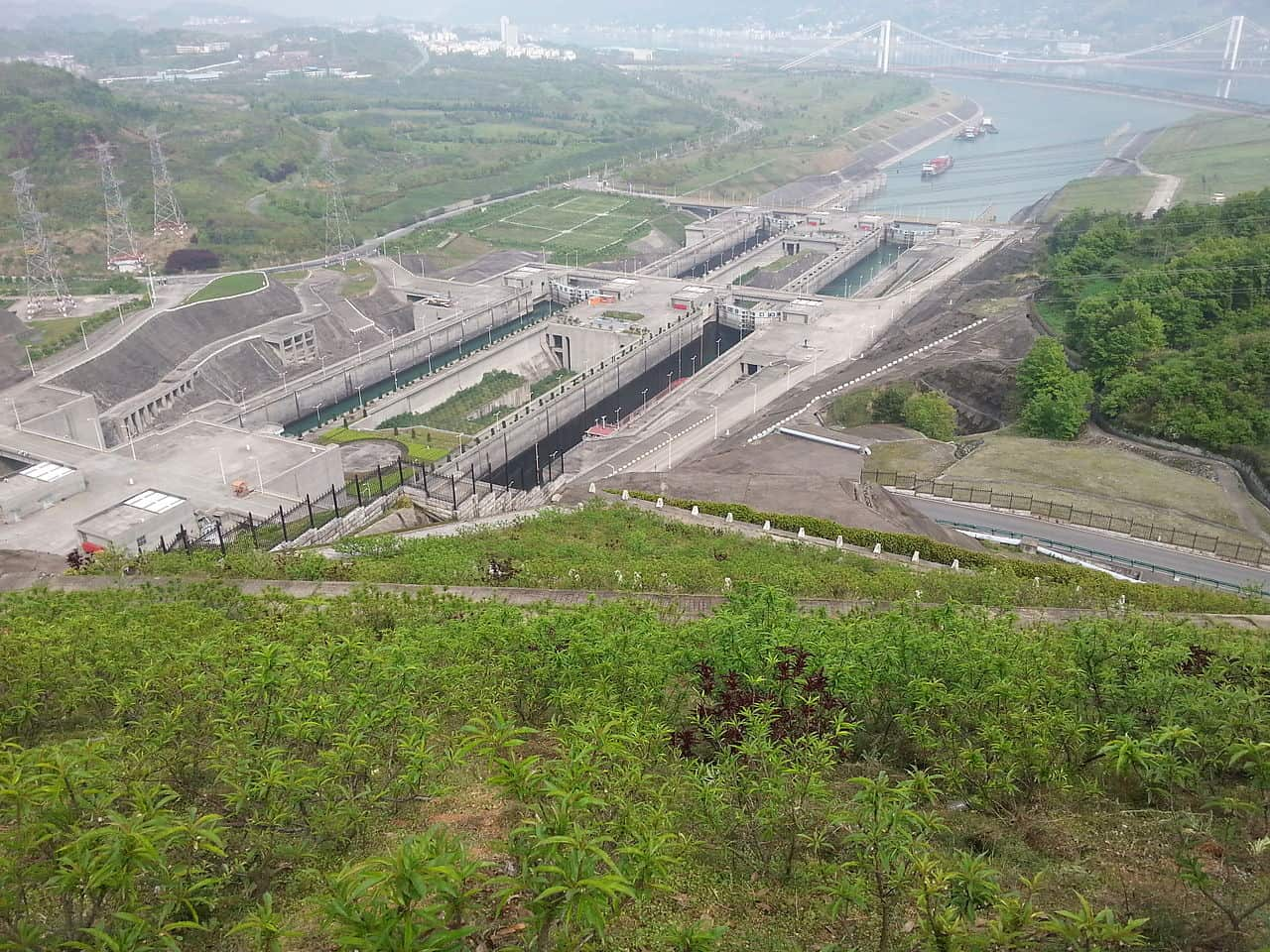 three gorges dam facts, landmarks facts
