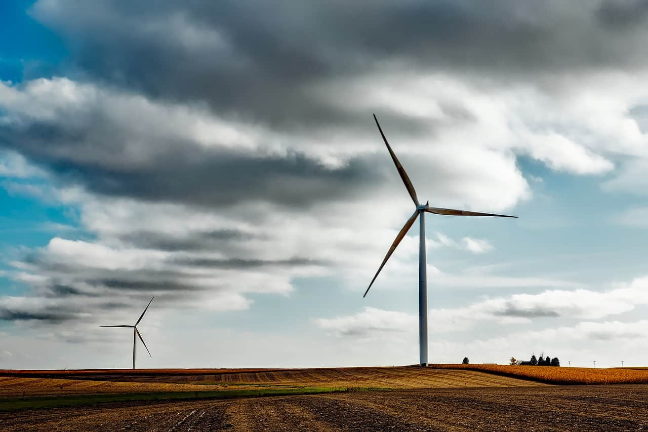 wind farm, cloud, denmark facts