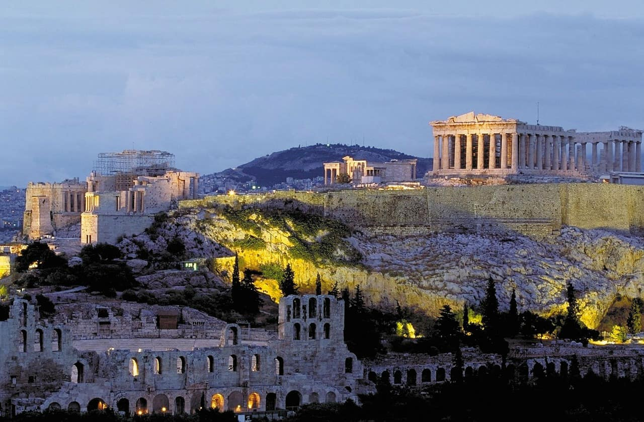 Athens' Acropolis, cities facts