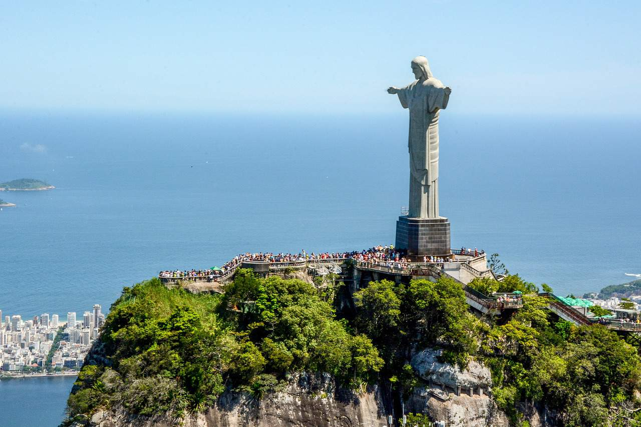 Rio de Janeiro facts, Christ the Redeemer, World facts