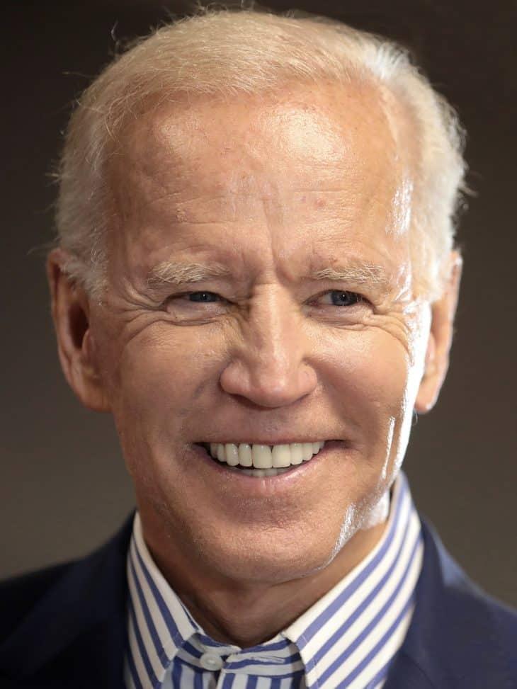 Joe Biden in 2019, after speaking with supporters in Des Moines, Iowa.