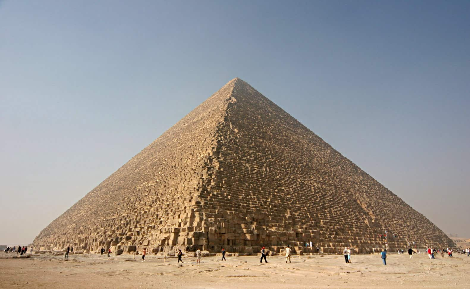The Great Pyramid of Giza, cities facts