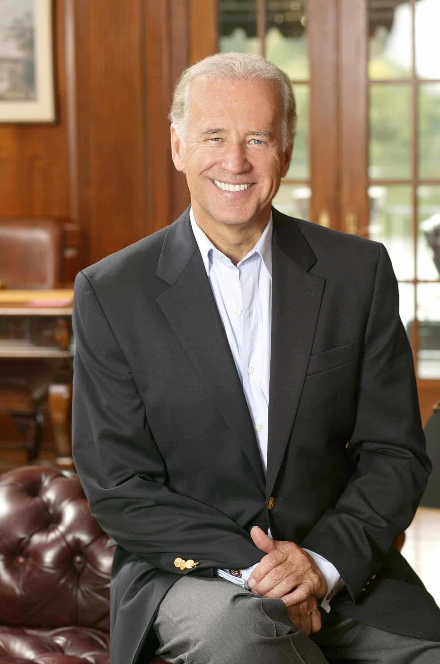 Joe Biden's official Senate photo from 2005.