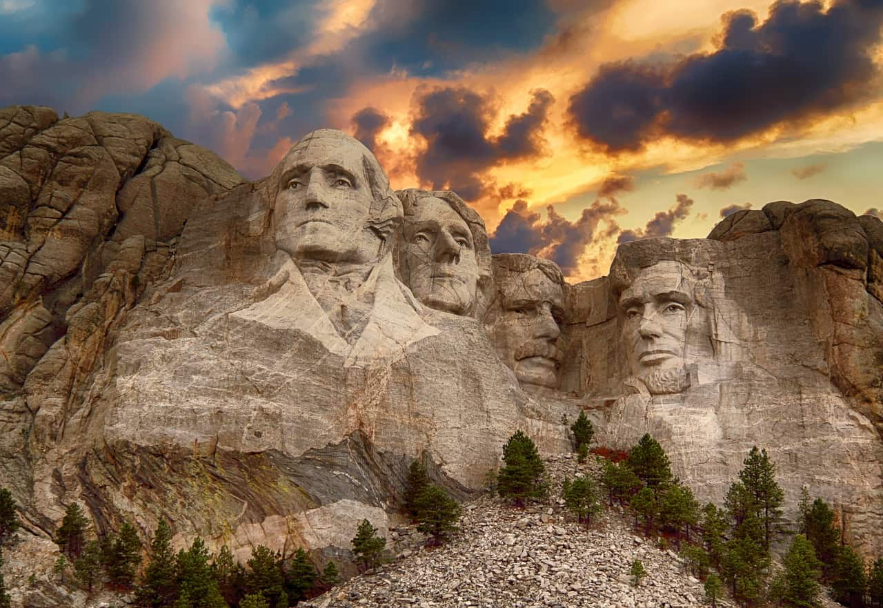 Mount Rushmore facts, World facts