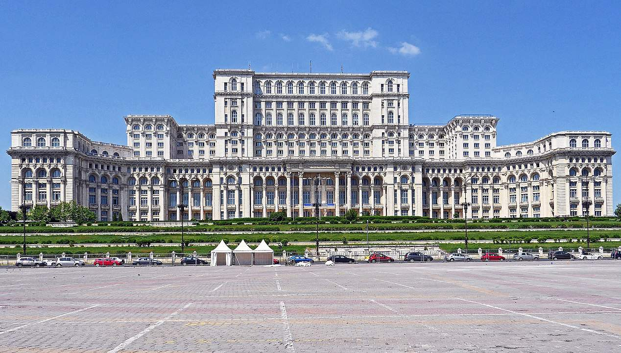 Romania's Palace of the Parliament, cities facts