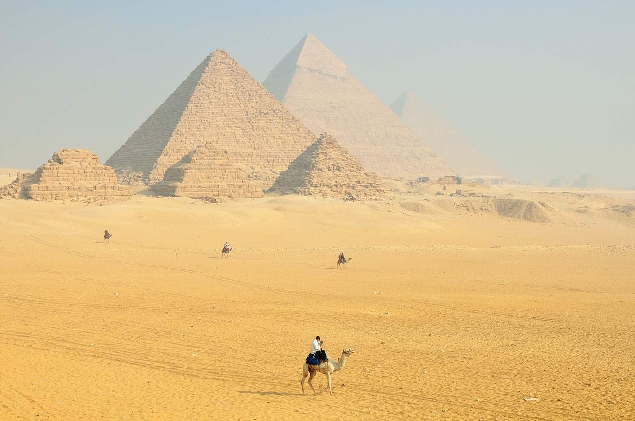 Pyramids of Egypt, Egypt facts, World facts