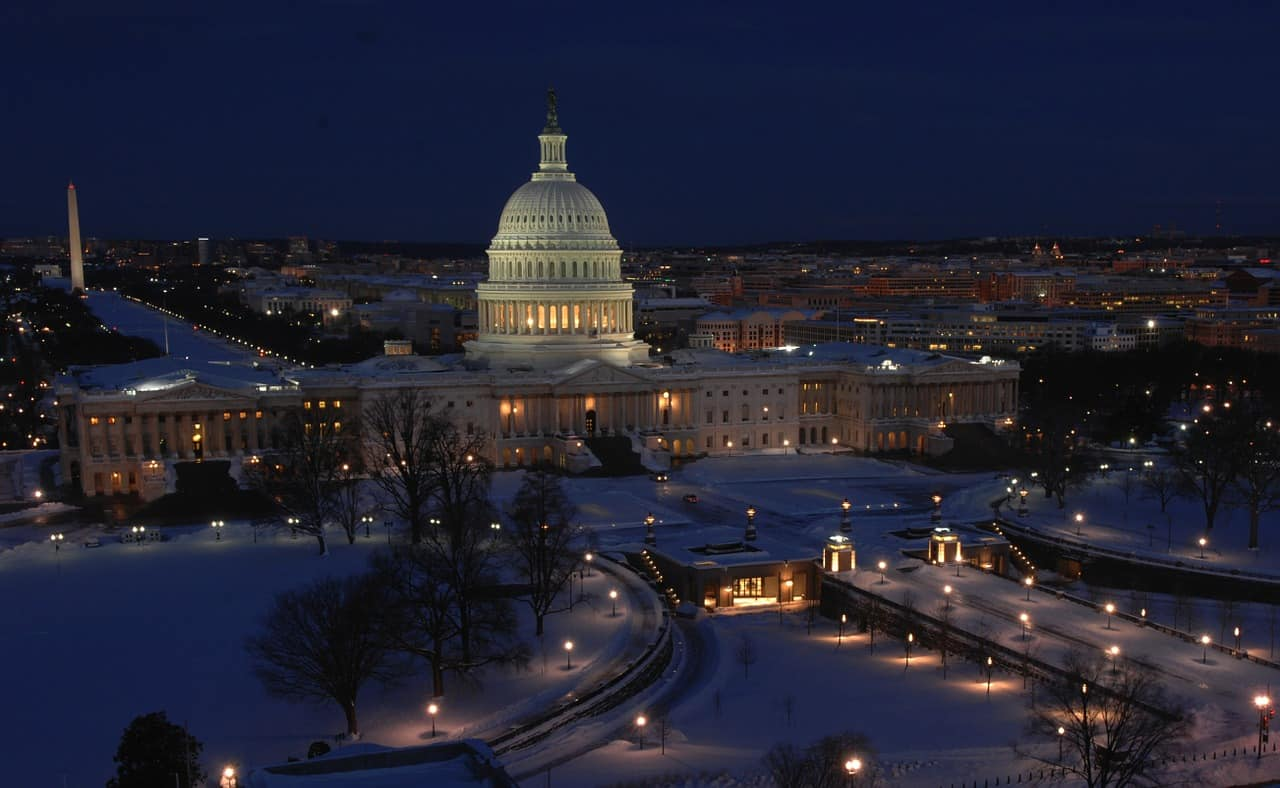 Washington D.C., Capitol Building, Washington Monument, cities facts