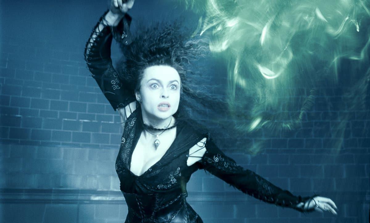 bellatrix lestrange casting the killing curse