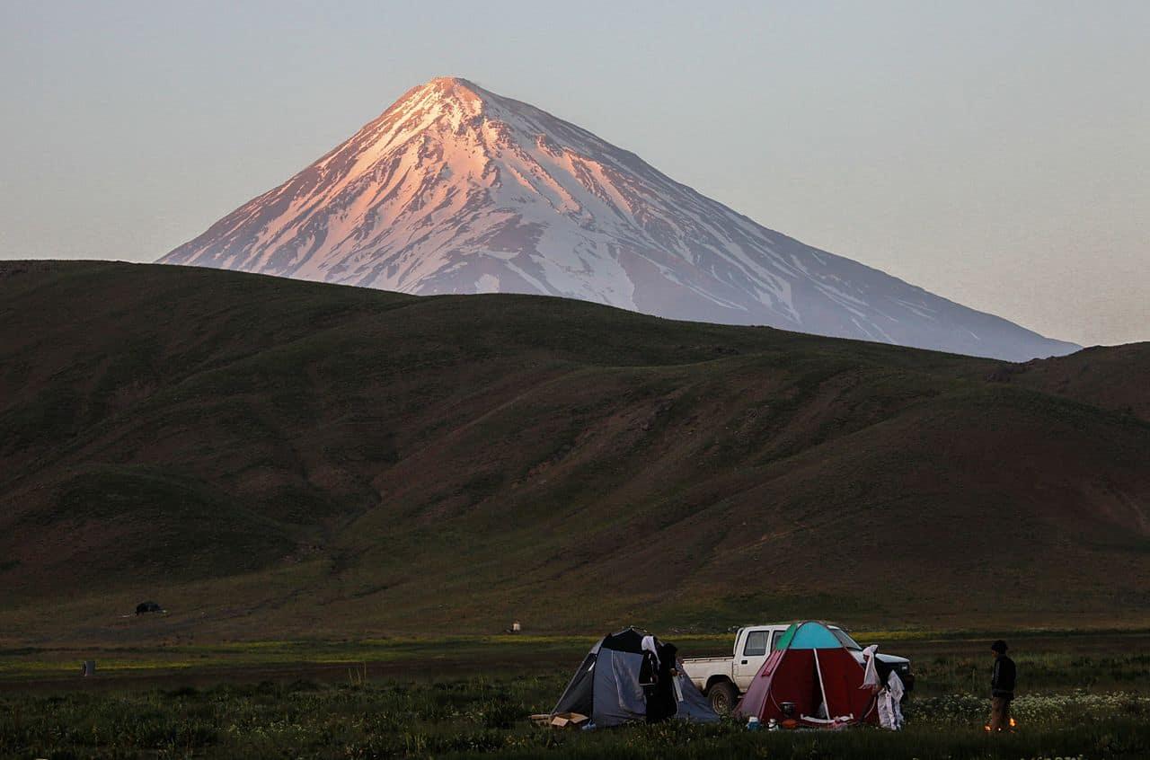 elburz mountains in iran