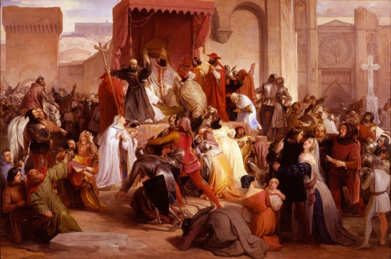 Pope Urban II, first crusade, historical events facts