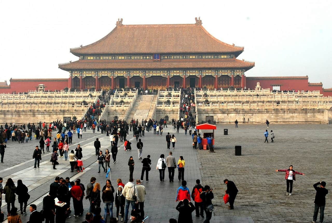 forbidden city, china facts