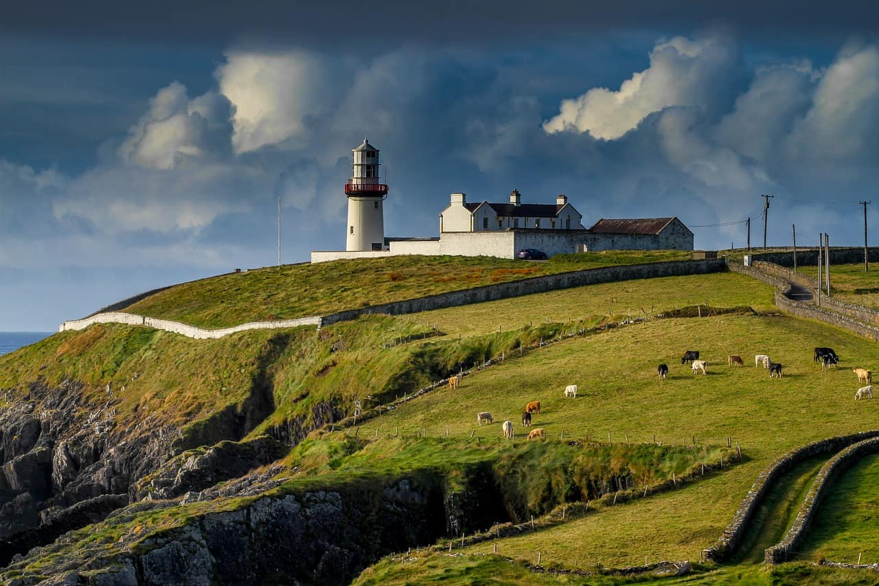 ireland, lighthouse