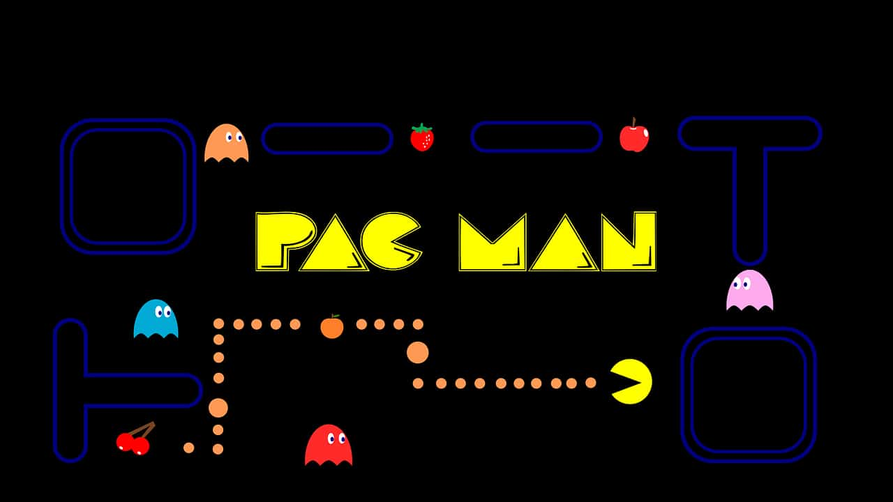 pacman, games, entertainment facts