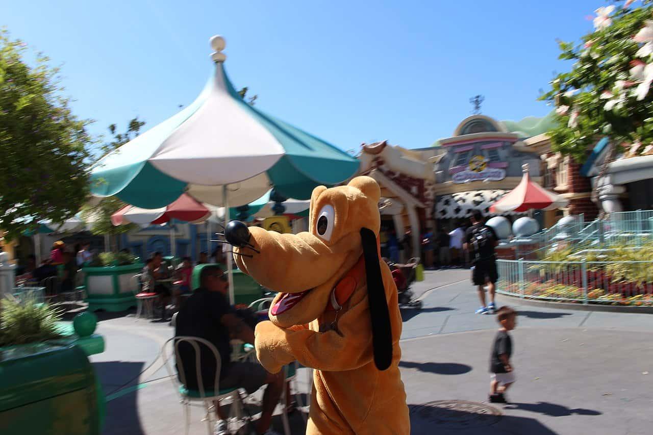 pluto the dog, disney cartoon character
