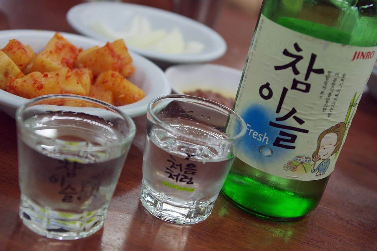south korea jinro soju