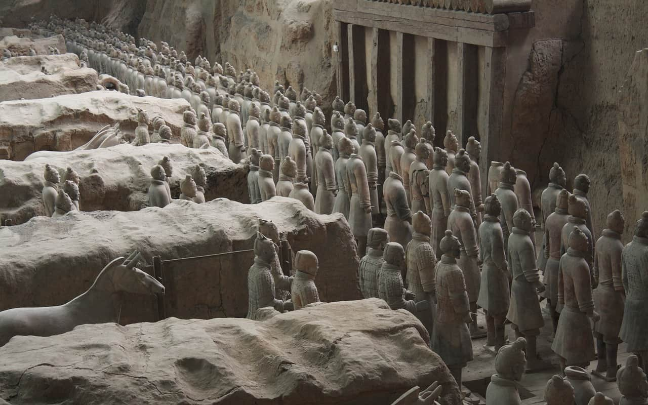 terracotta army, china facts