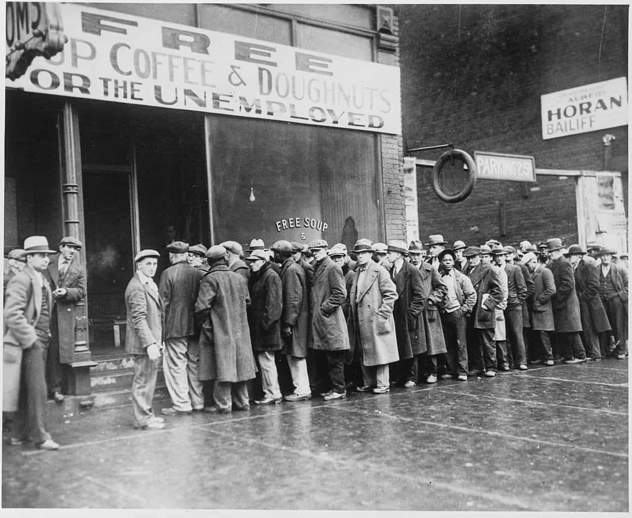 the great depression, historical events facts