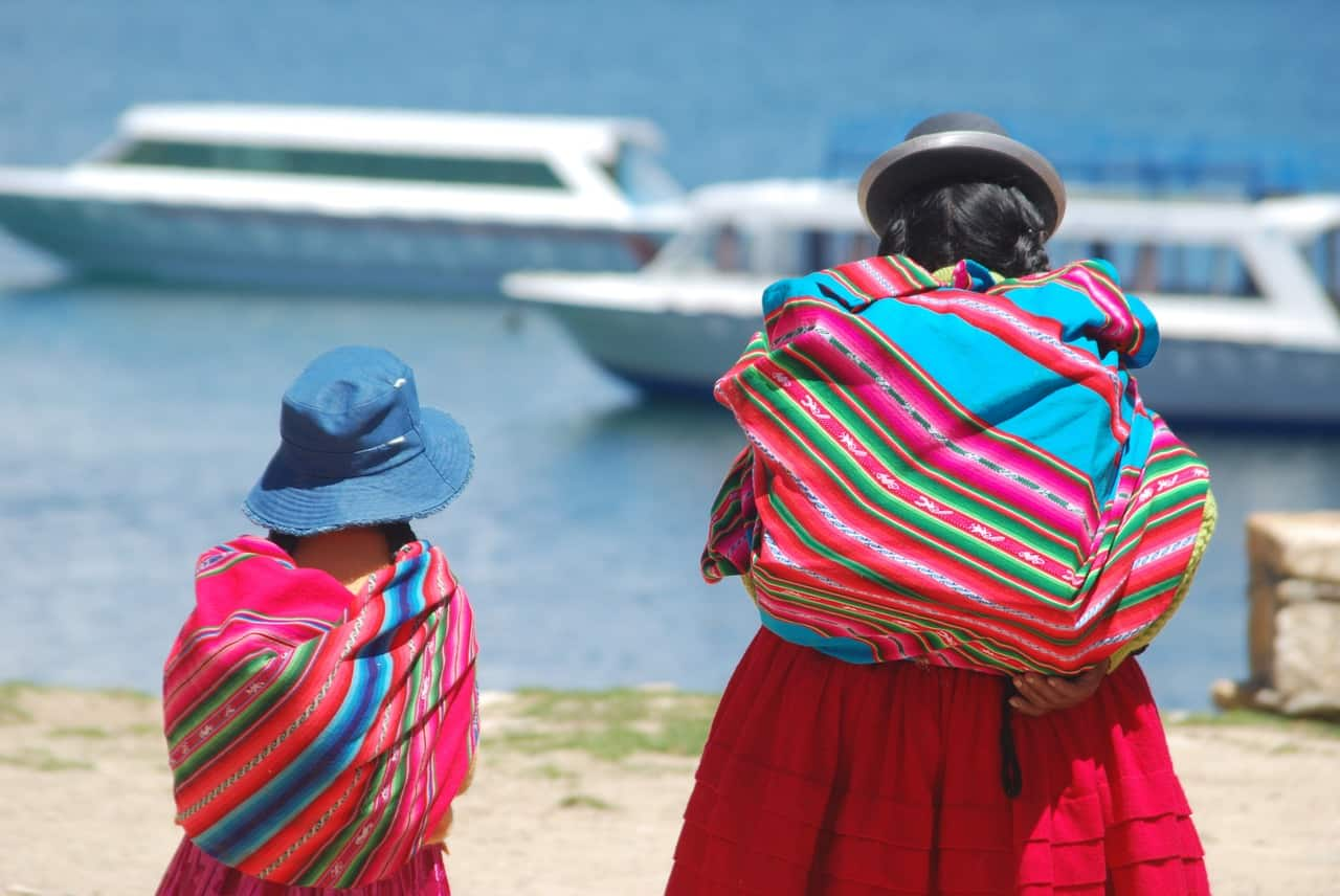 bolivia facts, woman, child