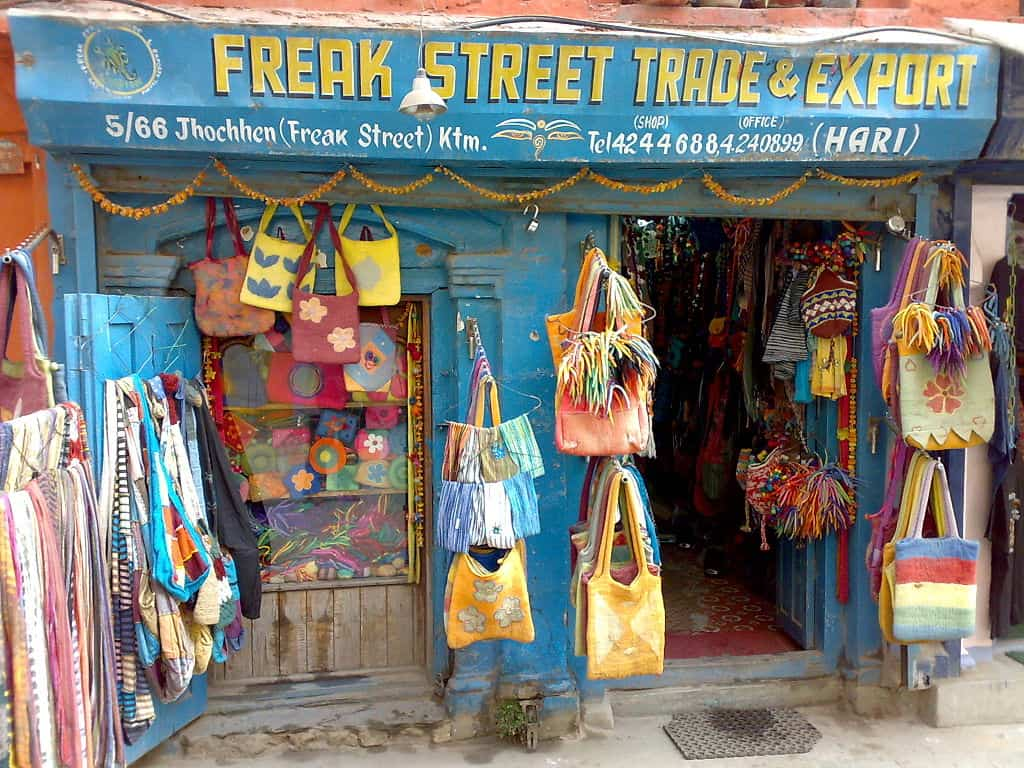 freak street, kathmandu facts