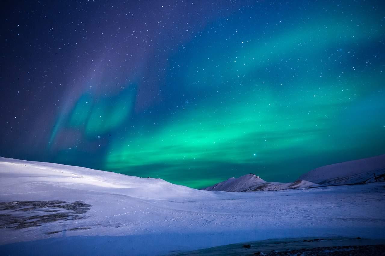 aurora borealis, antarctica facts
