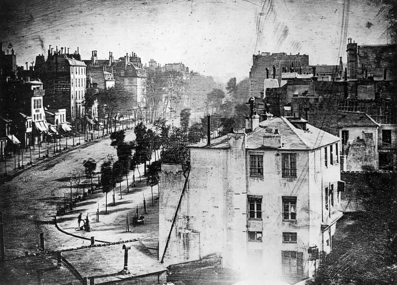 Boulevard du Temple photograph by Louis-Jacques-Mandé Daguerre
