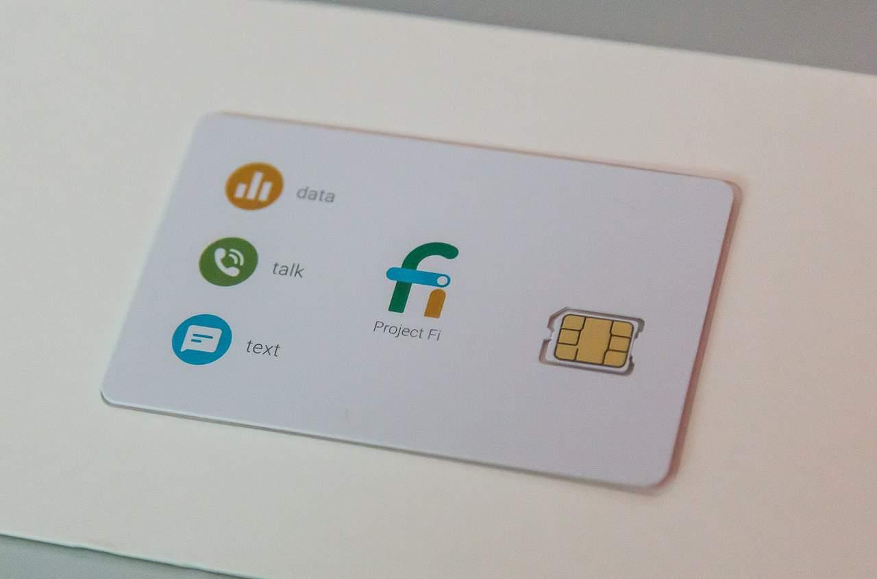 Google Fi nano sim card