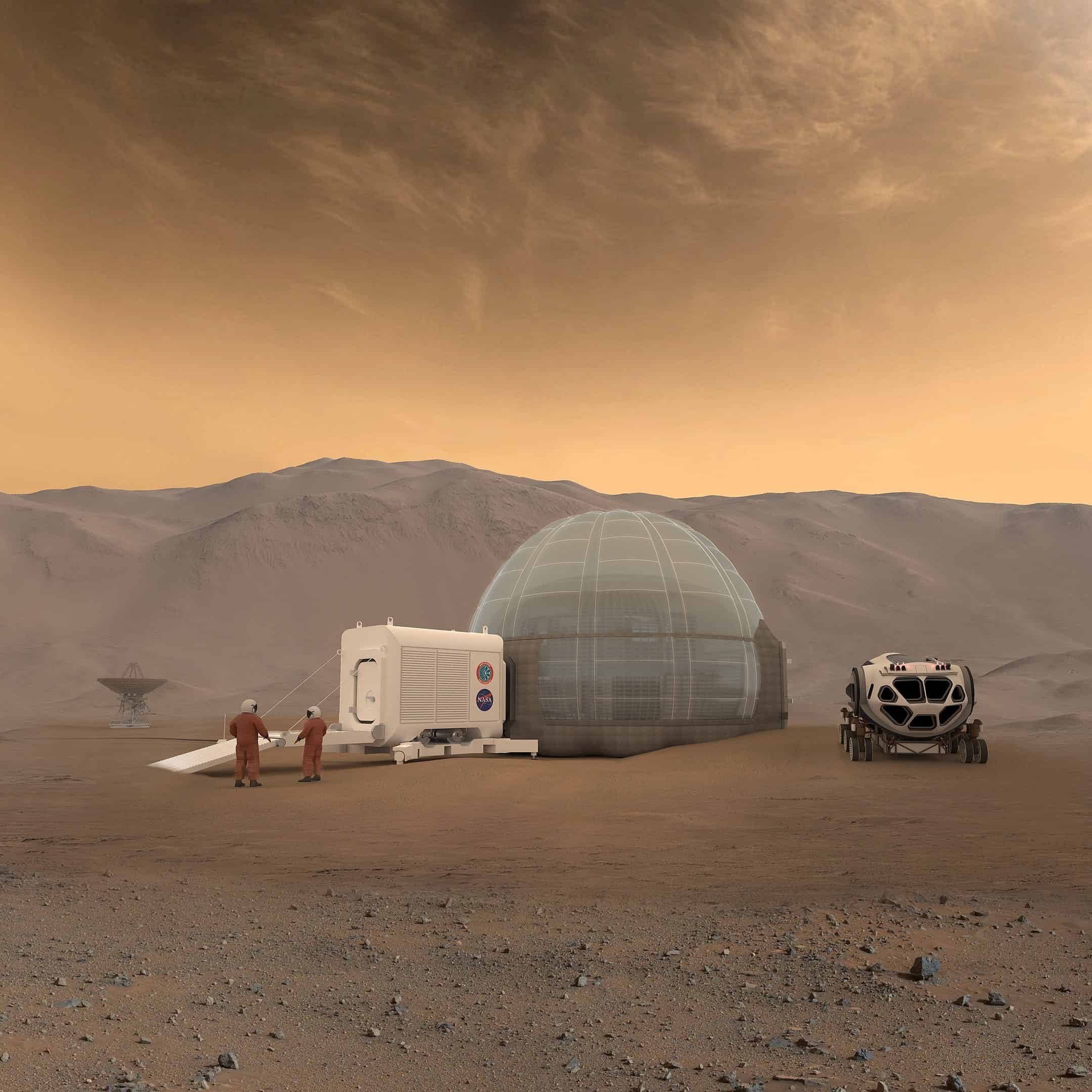 mars, synthetic biology