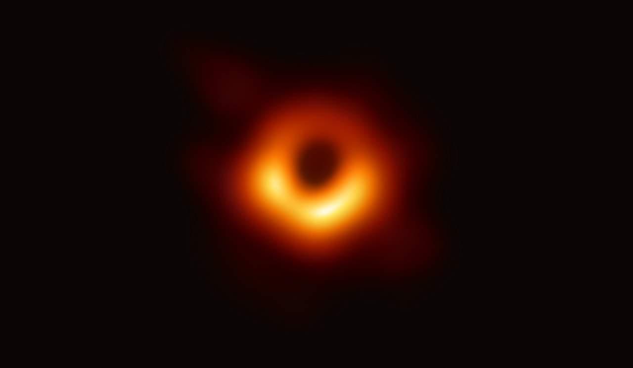 NASA black hole picture