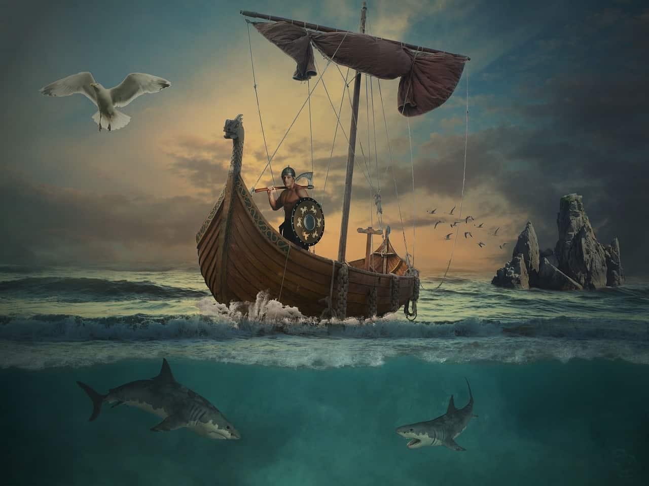 viking ship, viking facts