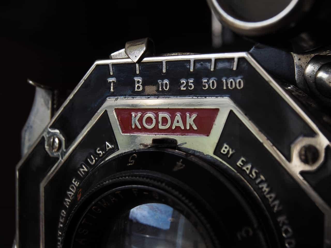 an old kodak camera