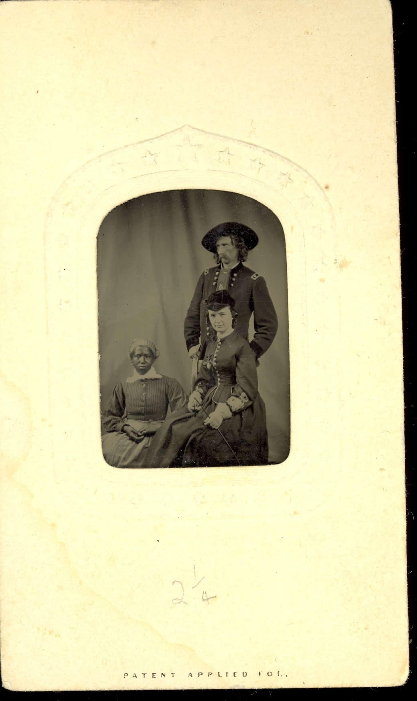 iron tintype photograph
