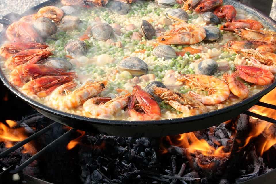 paella, rice facts