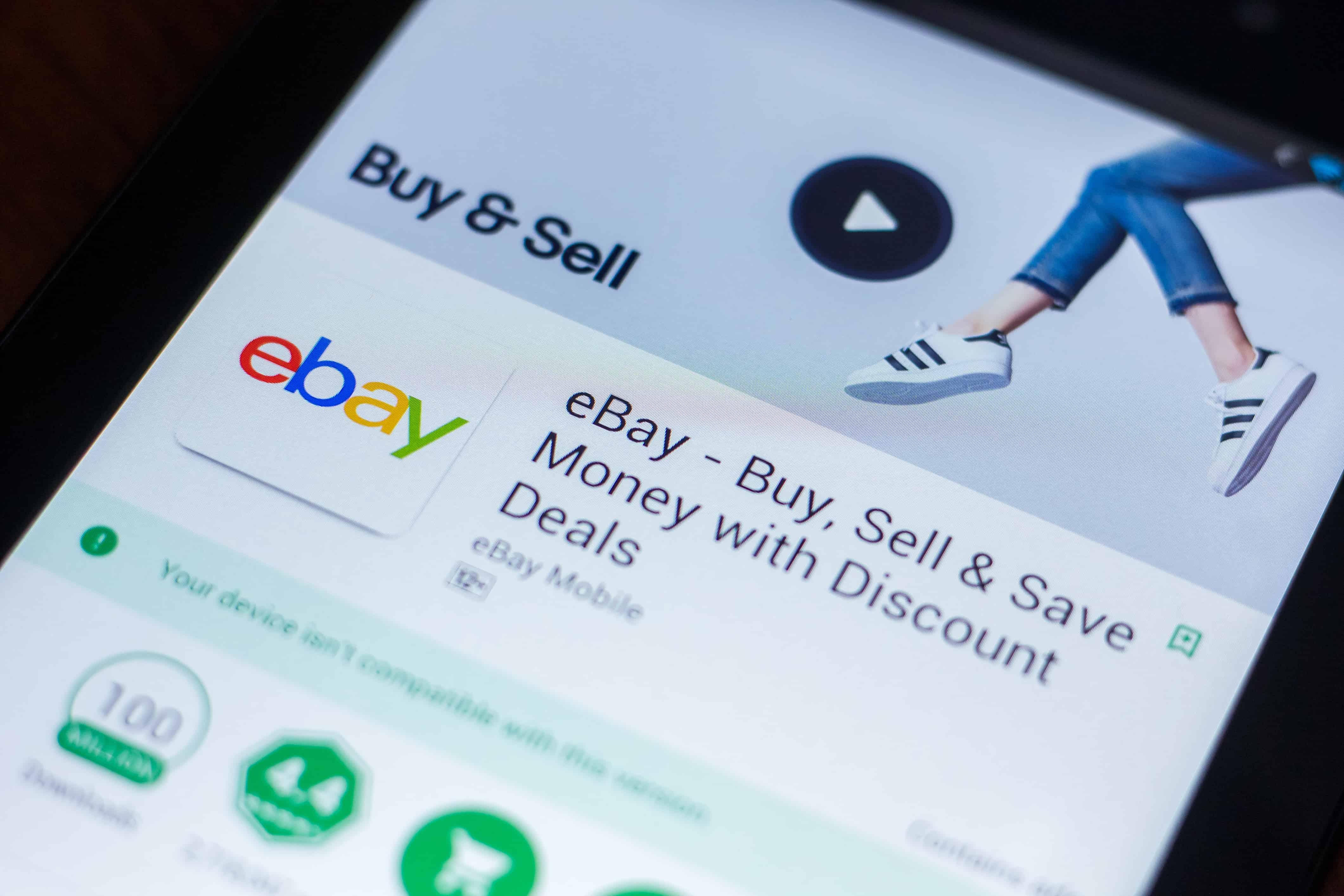 ebay app, ebay facts