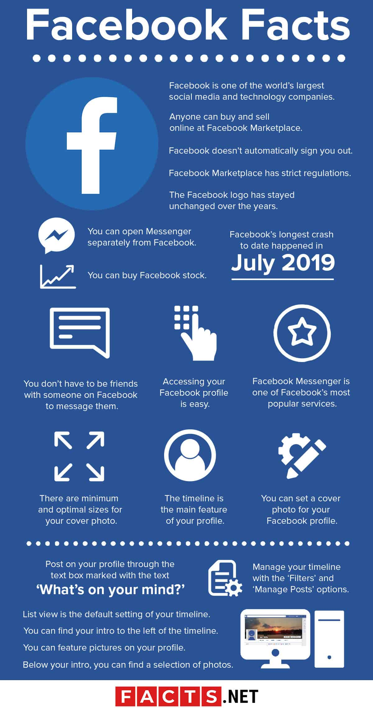 Facebook Facts Infographics