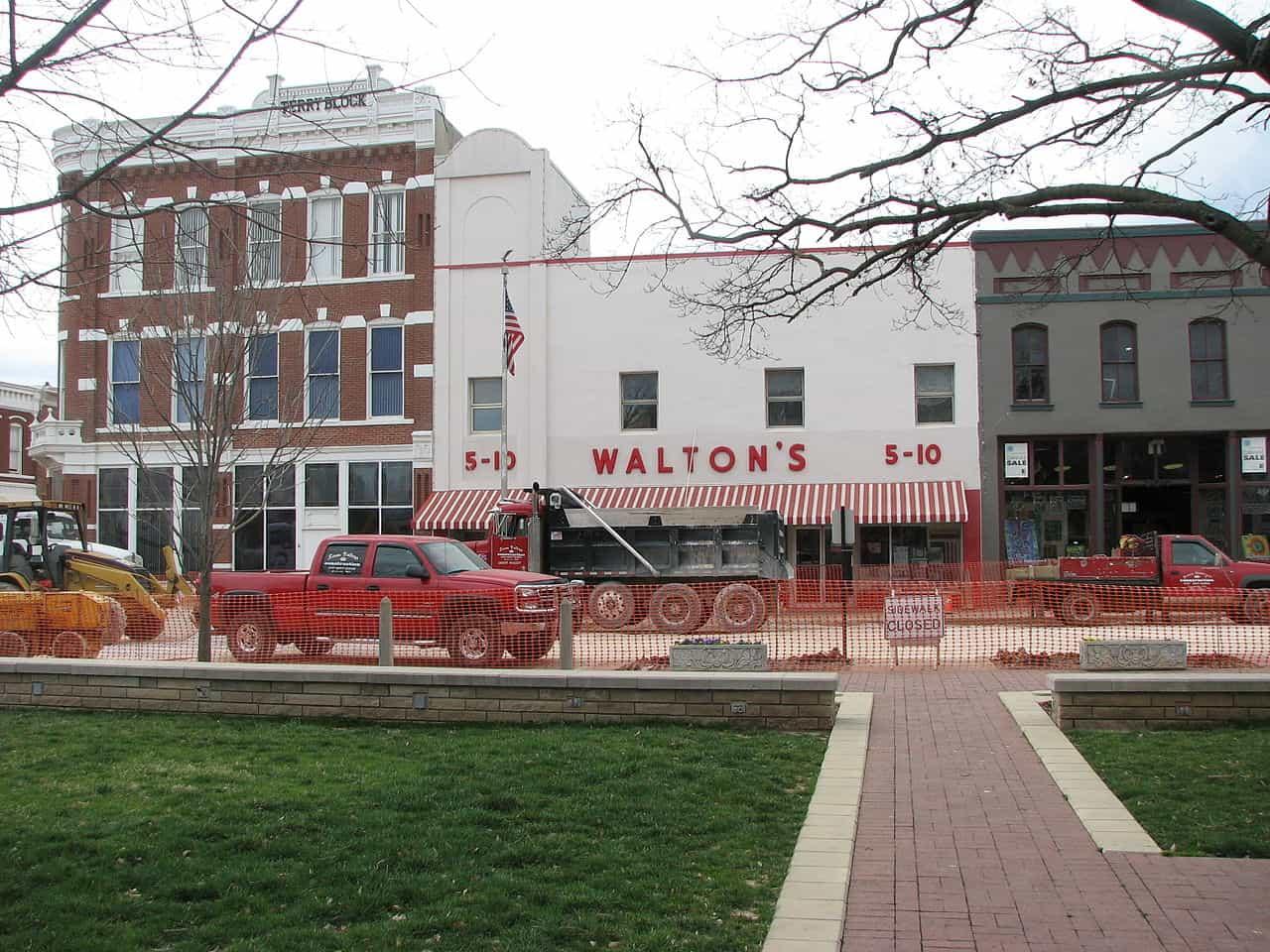 first walton's store