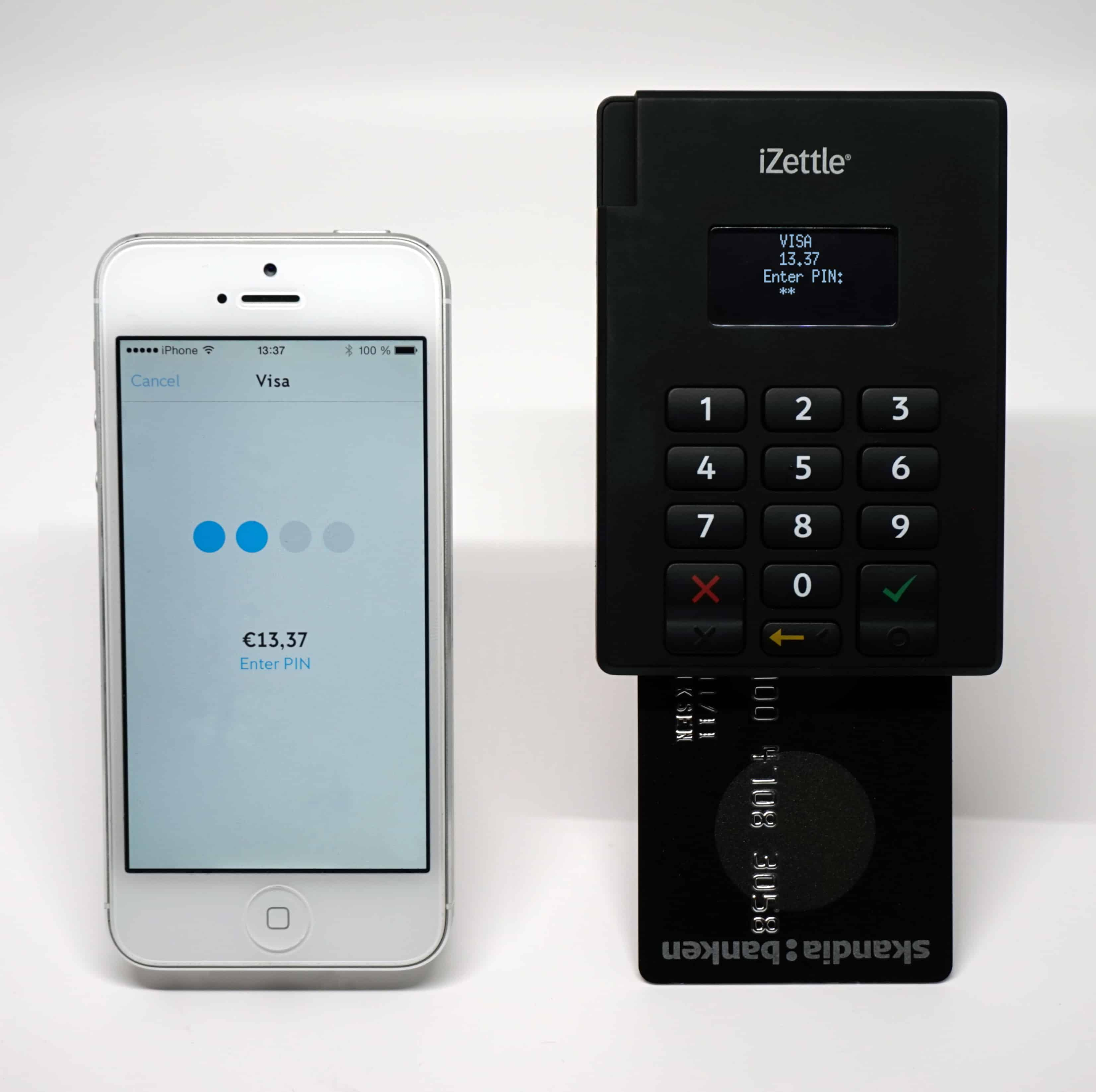 iZettle, paypal facts