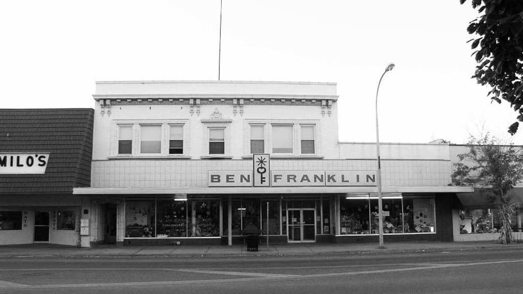 sam walton's ben franklin store