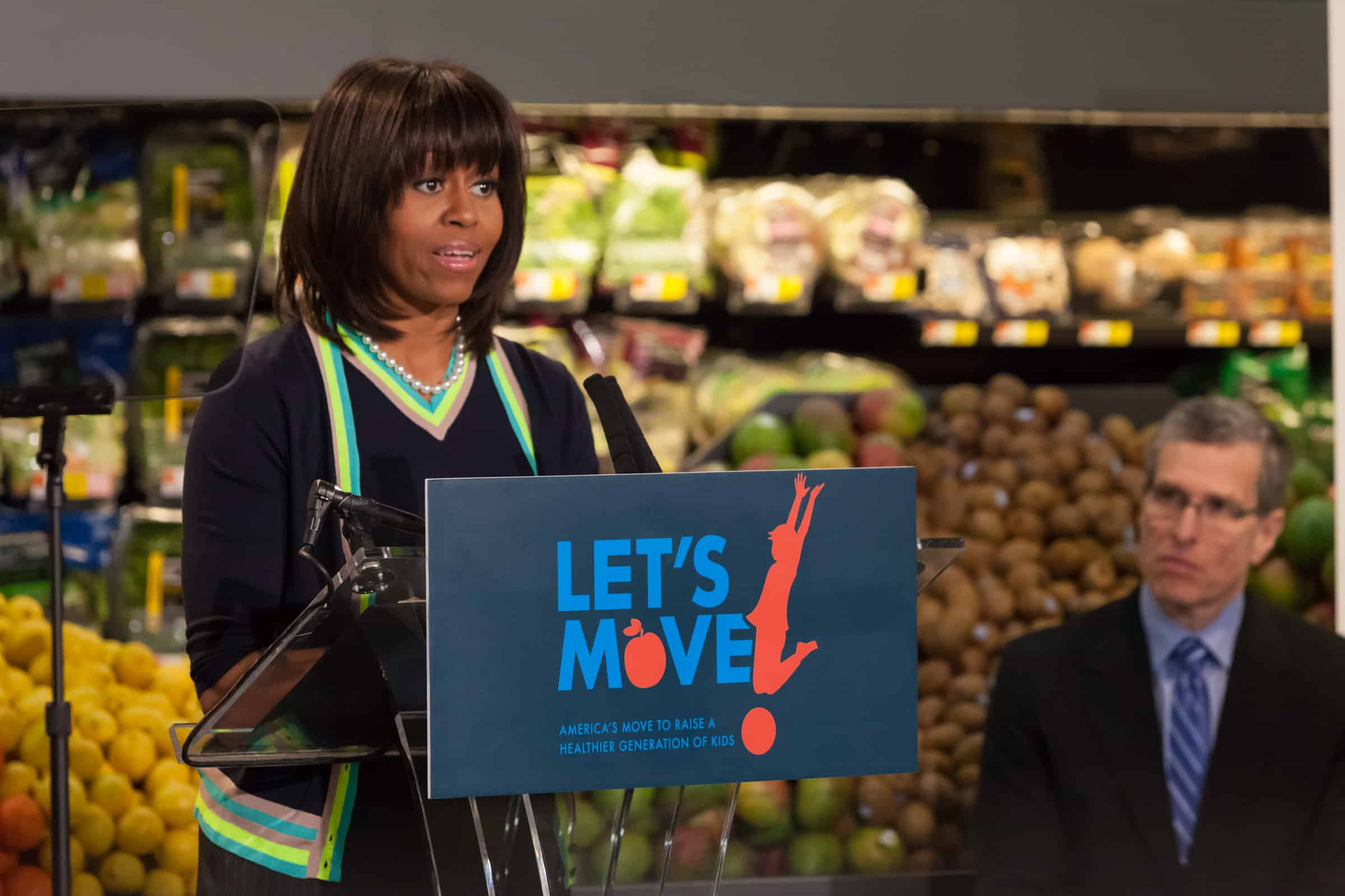 walmart's partnership with michelle obama