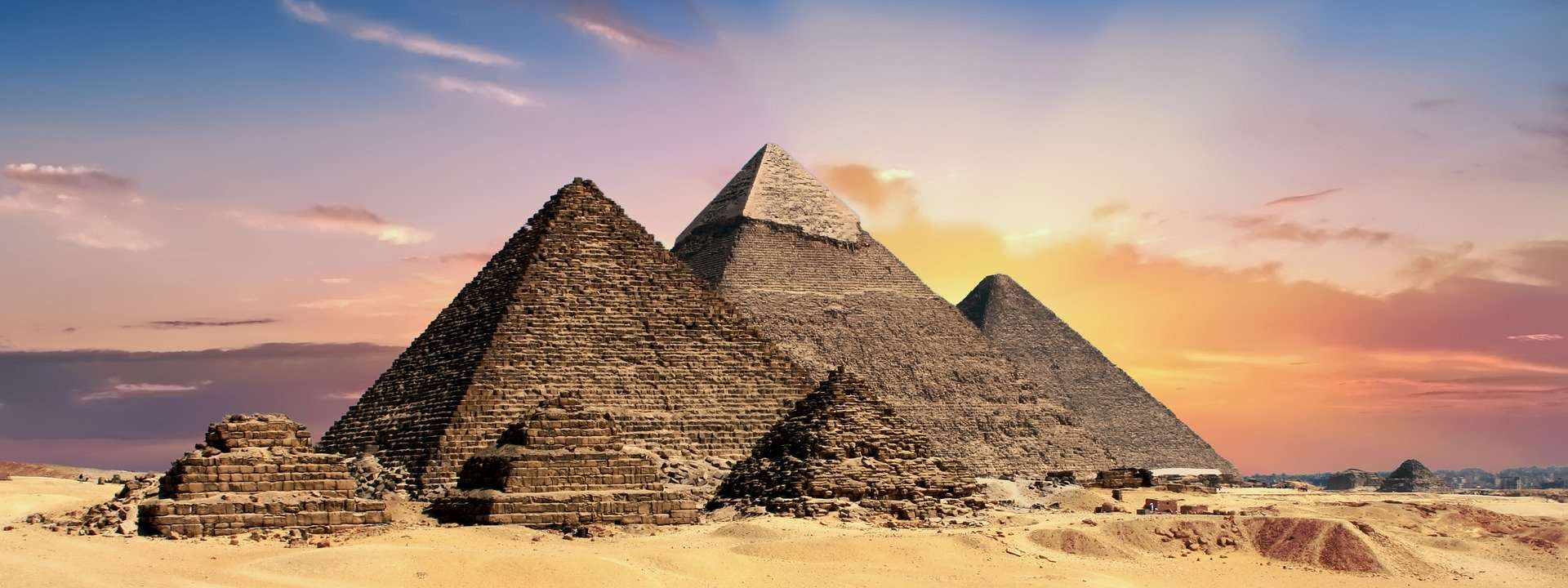 Facts about Egypt, pyramids
