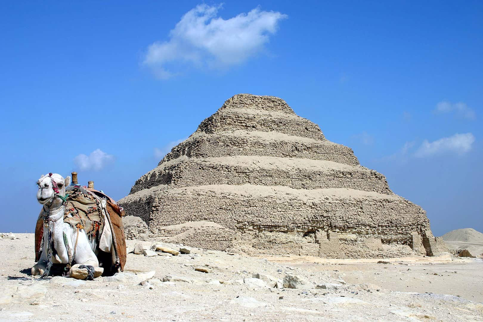 Facts about Egypt, stepped pyramid