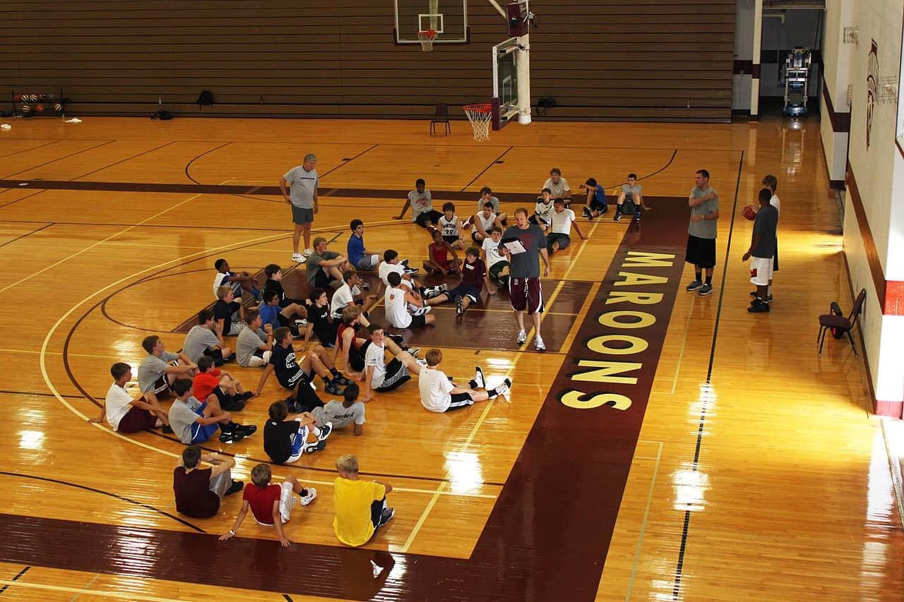 college basketball camp