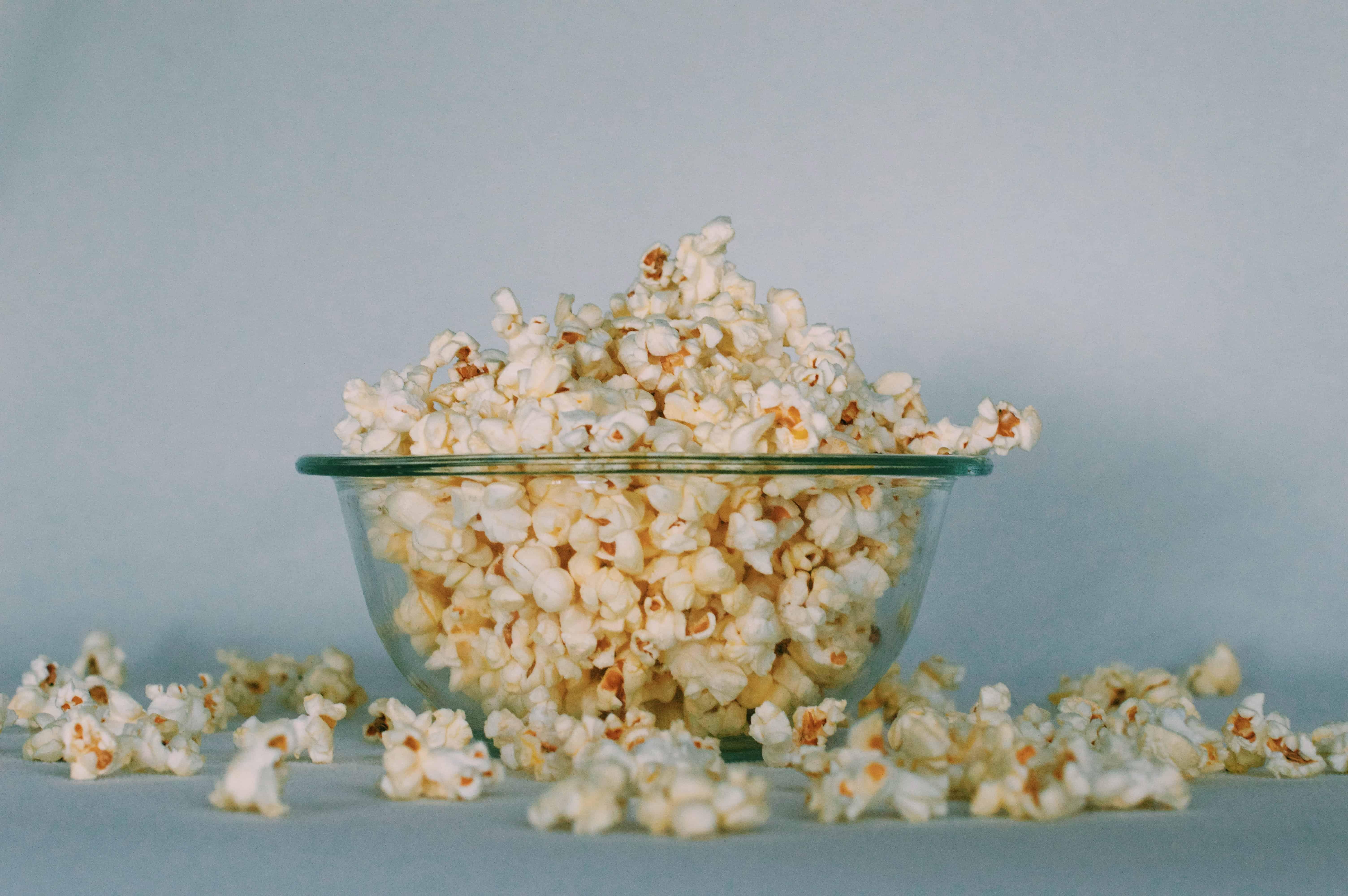 bowl of popcorn, corn facts