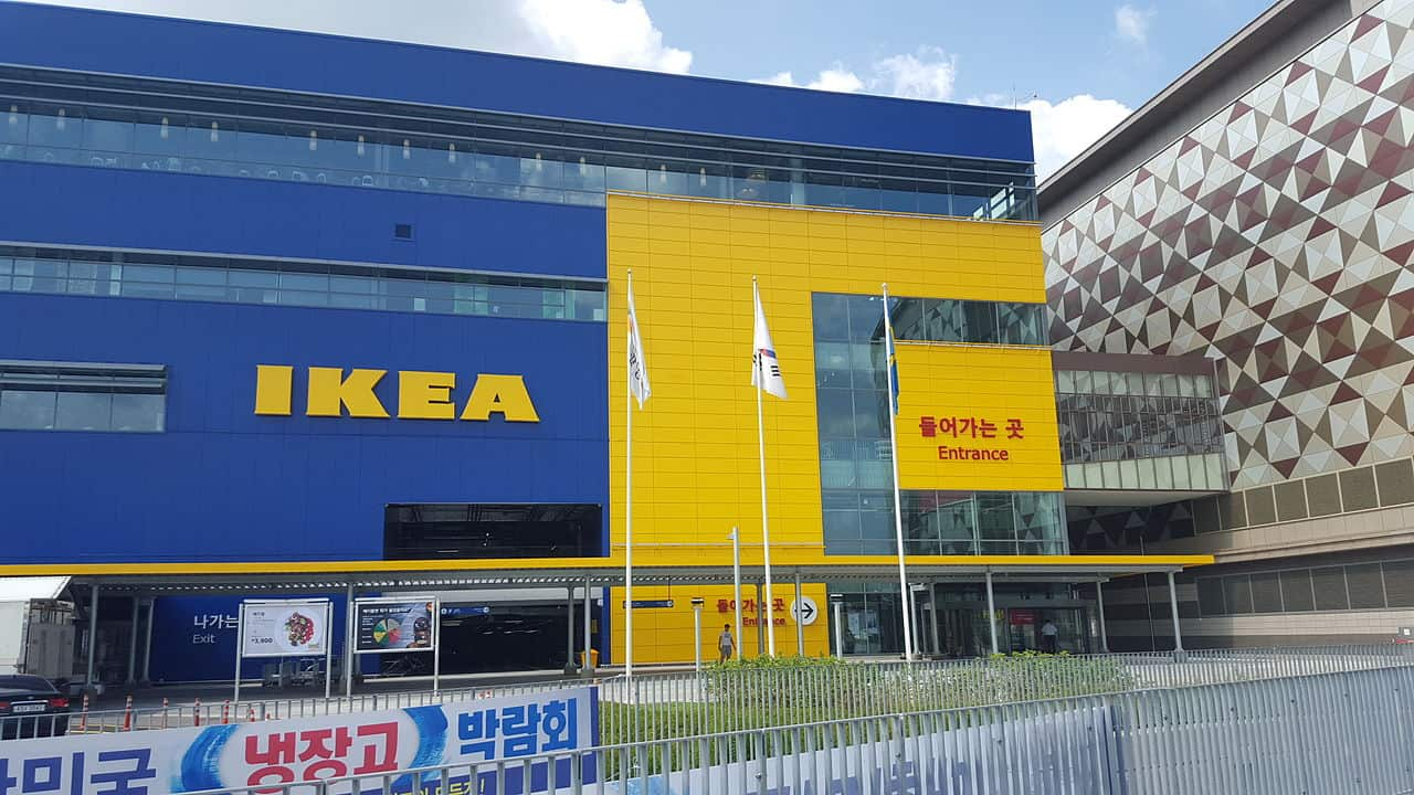 ikea store in korea