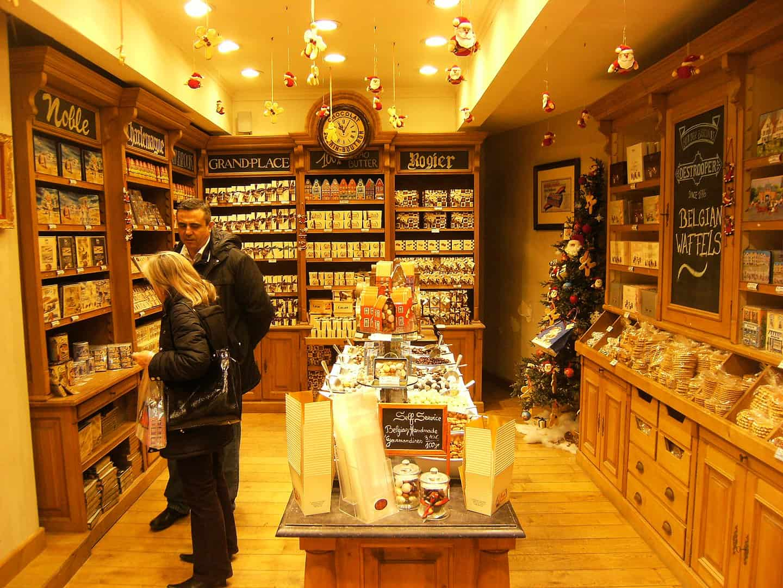 Belgium Facts, Brussels Chocolate Shop
