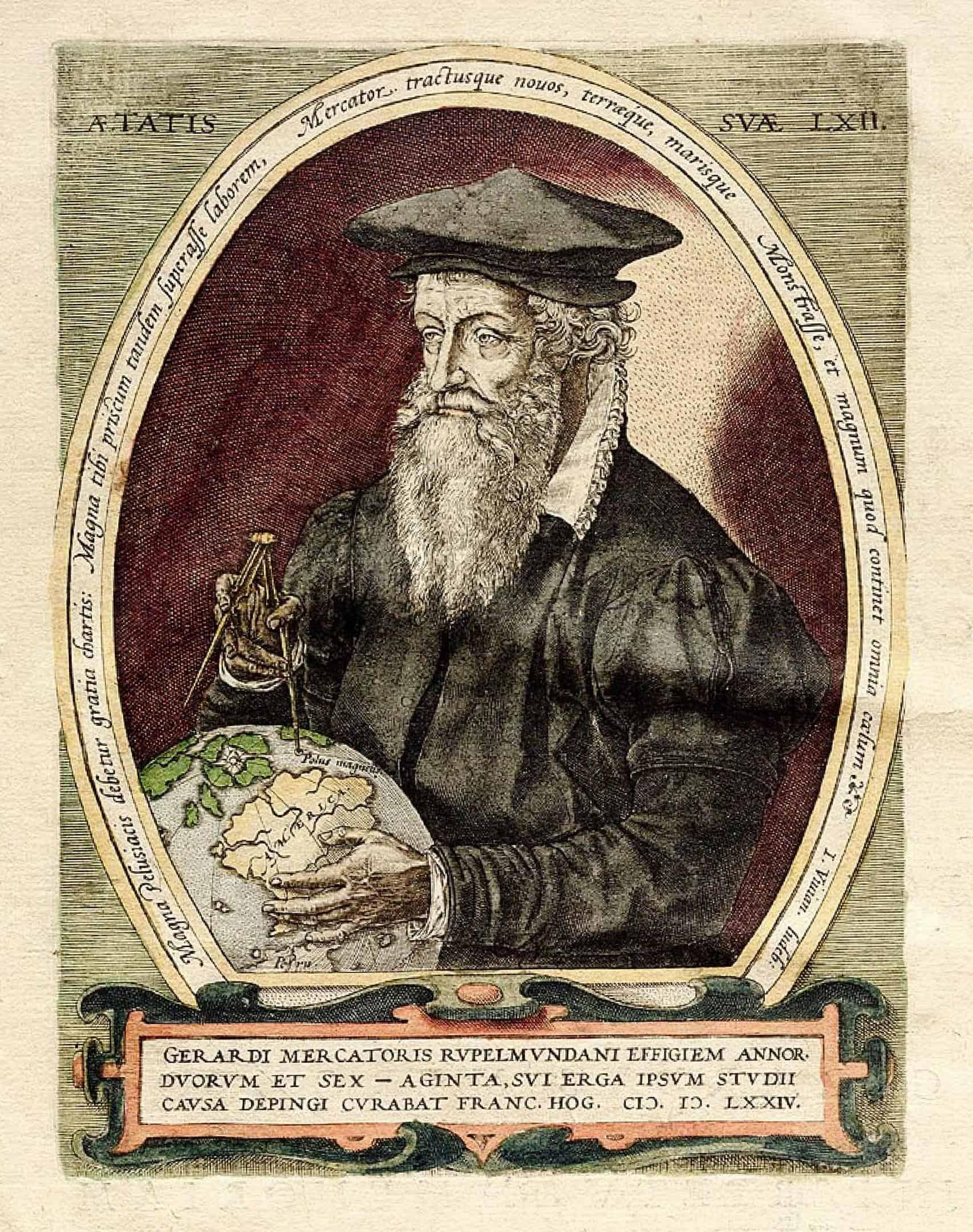 Belgium Facts, Gerardus Mercator