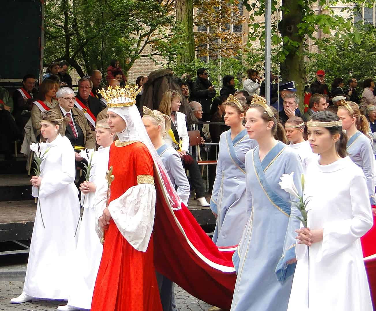 Belgium Facts, Procession of the Holy Blood