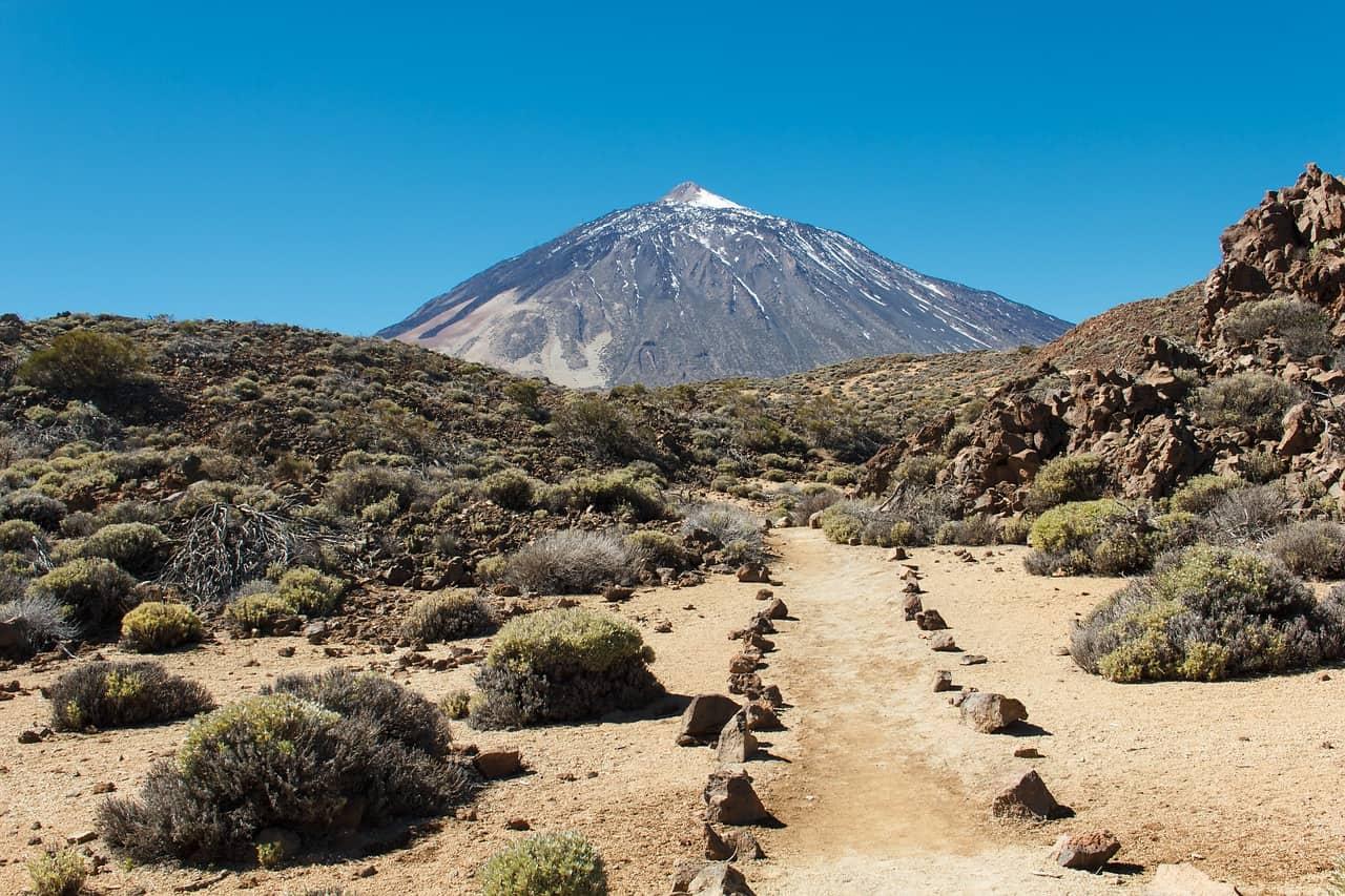 teide peak, spain facts