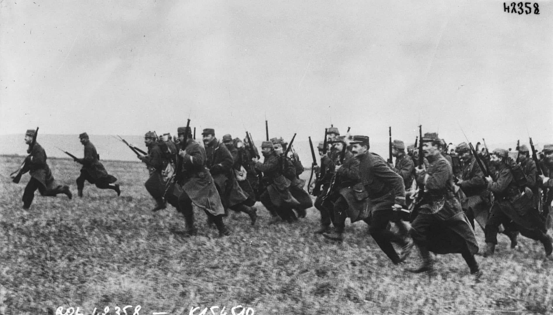 Marie Curie Gerçekler, Birinci Dünya Savaşı Başlıyor